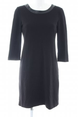 Hallhuber Donna Jerseykleid schwarz Business-Look