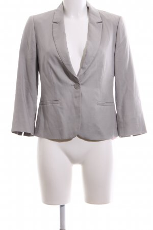 Hallhuber Donna Kurz-Blazer hellgrau Business-Look