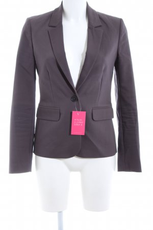 Hallhuber Donna Kurz-Blazer lila Business-Look