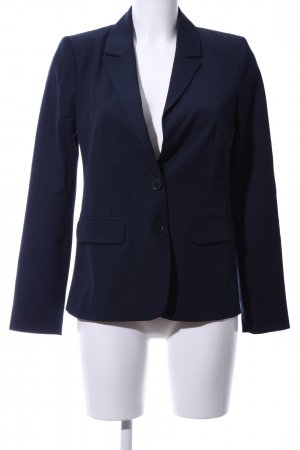 Hallhuber Donna Kurz-Blazer blau Business-Look