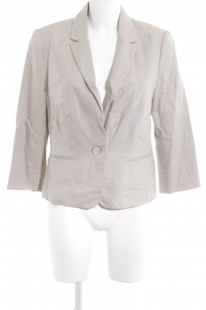 Hallhuber Donna Kurz-Blazer hellbeige Business-Look