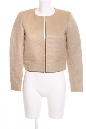 Hallhuber Donna Kurzjacke nude Allover-Druck Business-Look