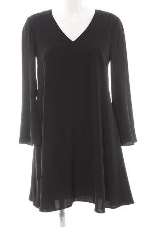 Hallhuber Donna Langarmkleid schwarz Elegant