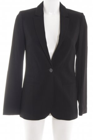 Hallhuber Donna Long-Blazer schwarz Business-Look