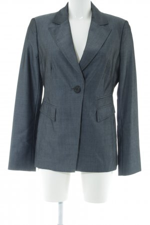 Hallhuber Donna Long-Blazer hellgrau Business-Look
