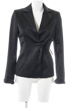 Hallhuber Donna Long-Blazer schwarz Elegant
