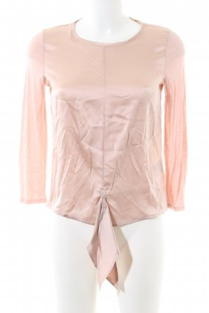 Hallhuber Donna Seidenbluse pink Business-Look