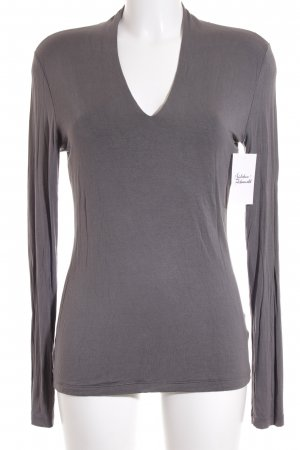 Hallhuber Donna Shirt grau Casual-Look
