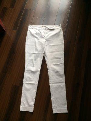 Hallhuber donna skinny Hose in weiß, Gr 40, wie neu