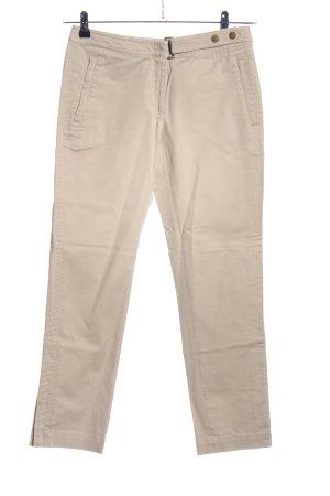 Hallhuber Donna Slim Jeans wollweiß Business-Look