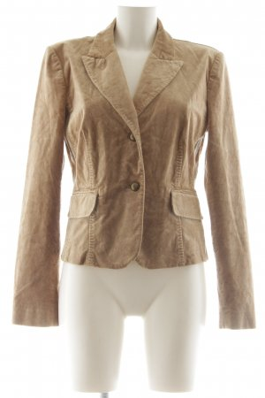 Hallhuber Donna Smoking-Blazer braun Casual-Look