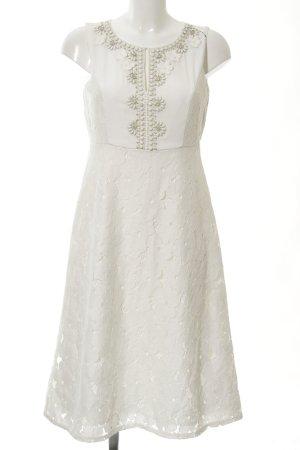 Hallhuber Donna Lace Dress natural white-white elegant