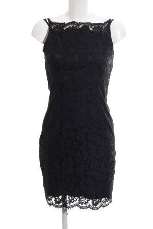 Hallhuber Donna Spitzenkleid schwarz Elegant