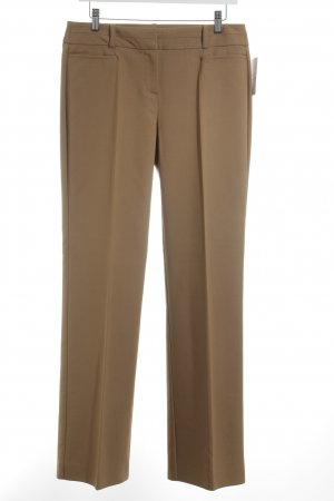 Hallhuber Donna Stoffhose camel Business-Look