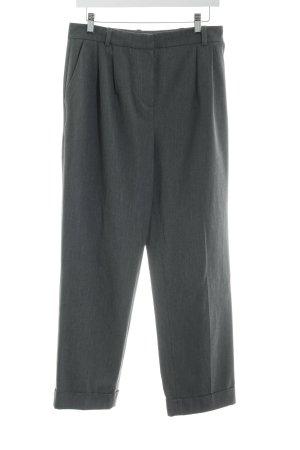 Hallhuber Donna Pantalon en jersey gris style d'affaires