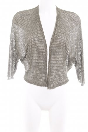 Hallhuber Donna Knitted Bolero gold-colored-green grey loosely knitted pattern