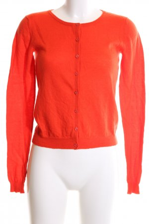 Hallhuber Donna Strickjacke rot Casual-Look