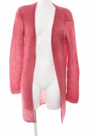 Hallhuber Donna Knitted Coat pink casual look
