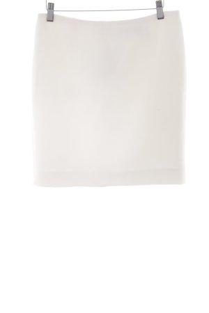 Hallhuber Donna Jupe tricotée crème élégant