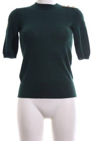 Hallhuber Donna Strickshirt grün Casual-Look