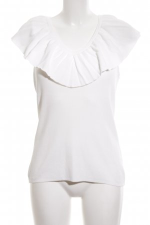 Hallhuber Donna Knitted Top white casual look