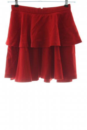 Hallhuber Donna Broomstick Skirt red casual look