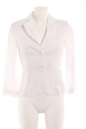 Hallhuber Donna Sweatblazer weiß Elegant
