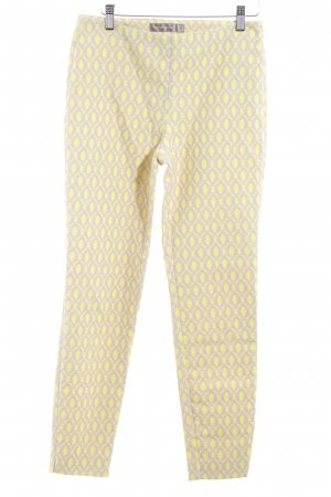 Hallhuber Donna Pantalone fitness giallo neon-beige stile casual