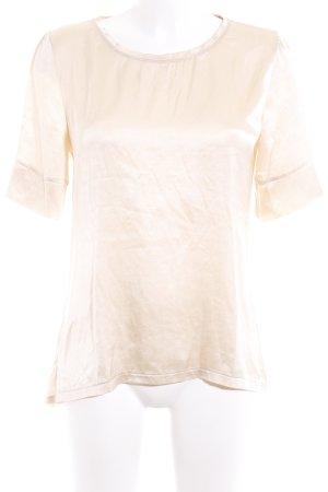 Hallhuber Donna T-Shirt creme Elegant