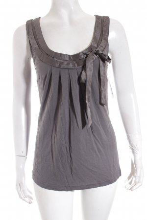 Hallhuber Donna Top grau Casual-Look