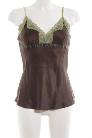 Hallhuber Donna Trägertop bronzefarben-khaki Casual-Look