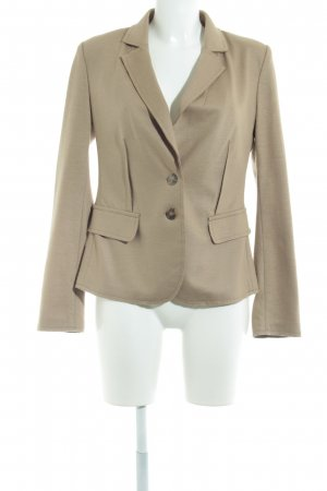 Hallhuber Donna Woll-Blazer camel Business-Look