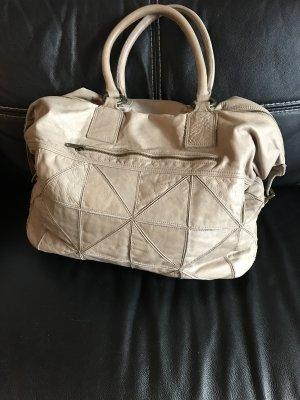 Hallhuber Echt Leder Handtasche