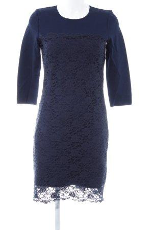 Hallhuber Etuikleid dunkelblau Elegant