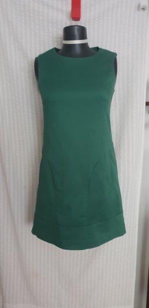 Hallhuber Sheath Dress forest green cotton