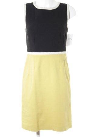 Hallhuber Sheath Dress black-yellow