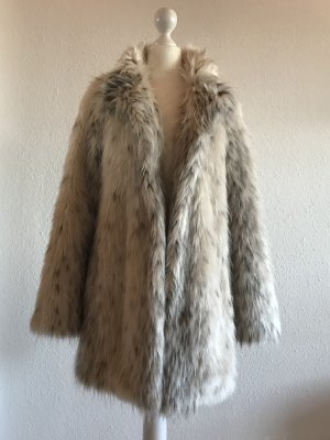 Hallhuber Fake Fur Mantel