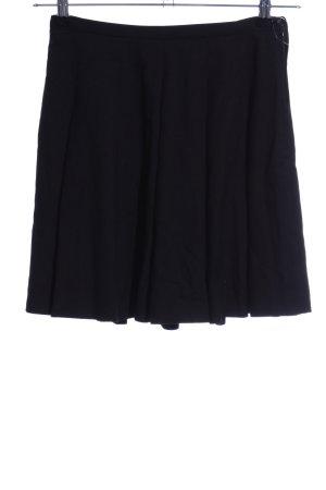 Hallhuber Faltenrock schwarz Elegant