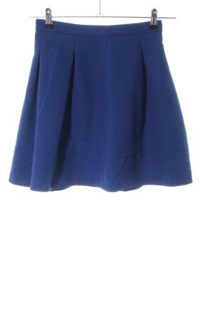 Hallhuber Faltenrock blau Casual-Look