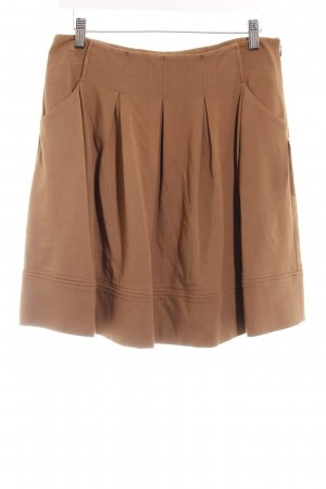 Hallhuber Plaid Skirt light brown casual look
