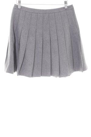 Hallhuber Plaid Skirt light grey Brit look