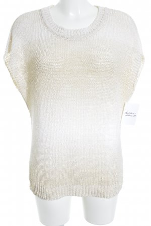Hallhuber Fine Knitted Cardigan cream-beige color gradient casual look