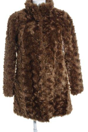 Hallhuber Bontjack bruin straat-mode uitstraling