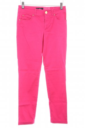 Hallhuber Five-Pocket-Hose magenta Casual-Look