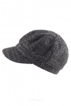 Hallhuber Flatcap schwarz Street-Fashion-Look