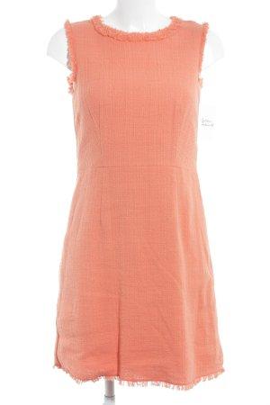 Hallhuber Robe à franges abricot élégant