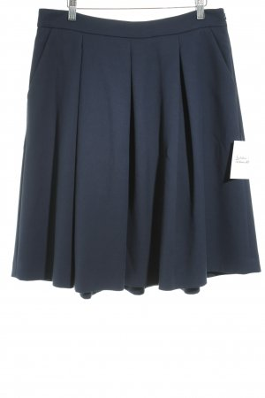 Hallhuber Glockenrock dunkelblau Elegant