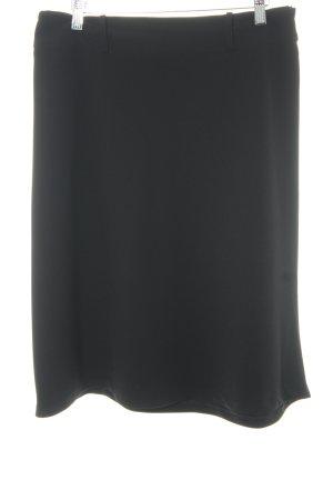 Hallhuber Jupe évasée noir style classique