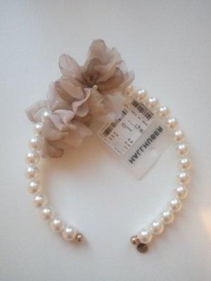Hallhuber Haarreif Perlen Neu mit Etikett