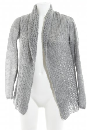 Hallhuber Crochet Cardigan grey casual look